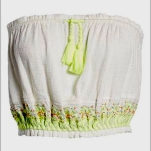 Free People No More Tiers Tube Top size S